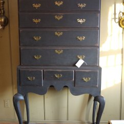 Queen Anne Style Chairs Floor With Arms #1-033 Highboy - Alex Pifer's The Seraph