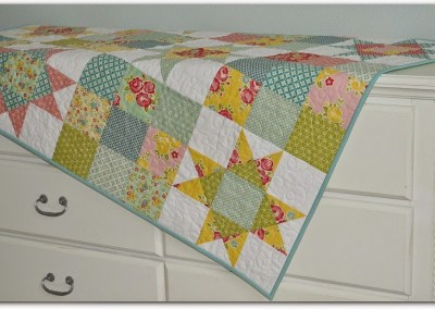 Happy Baby II Quilt