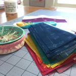 Rainbow sewing today!! sewtherainbow