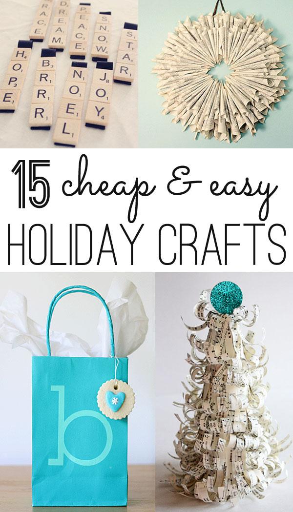 christmas crafts 12 cheap