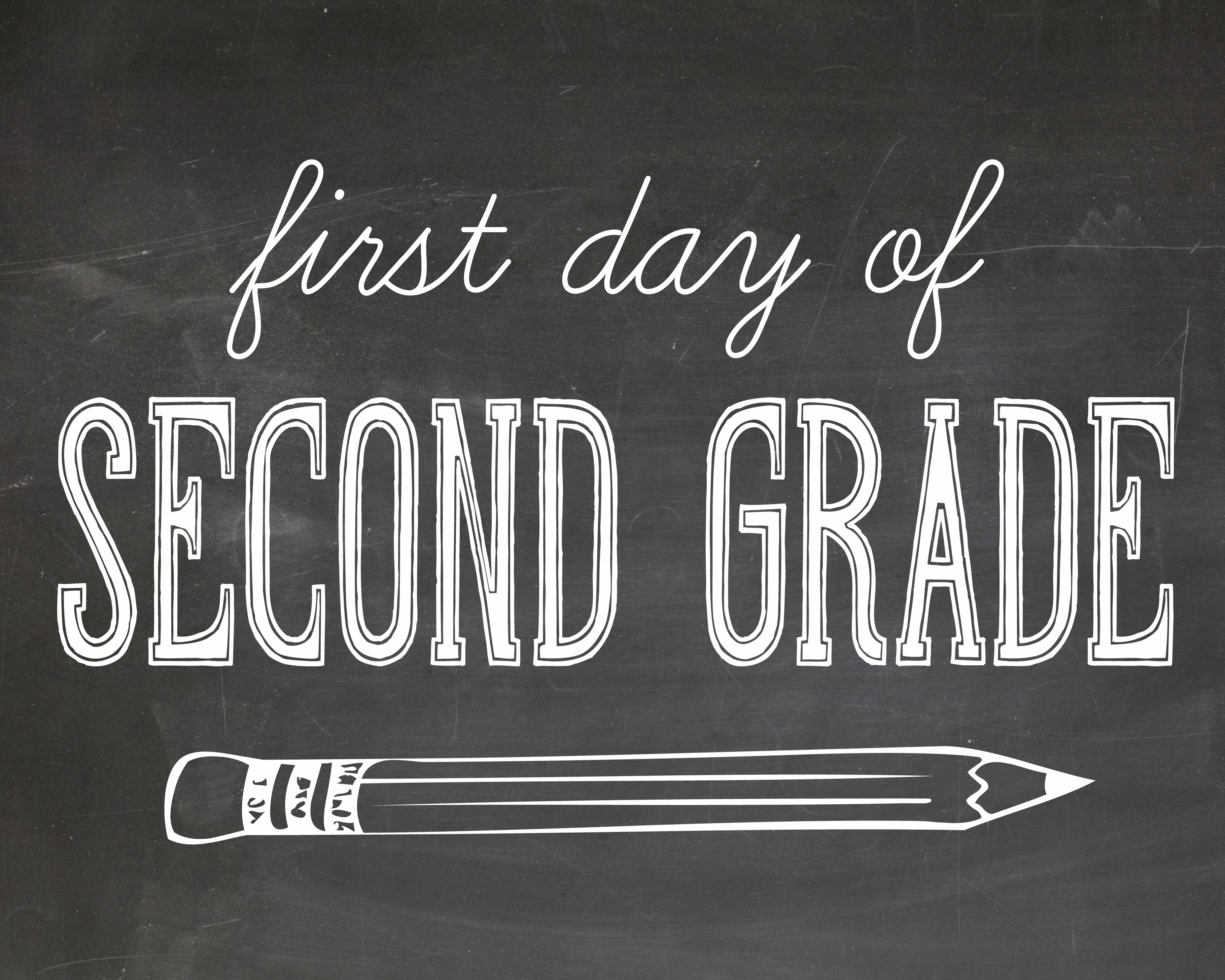 First Day Of School Photography Printables