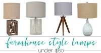 Country Cottage Table Lamps. Farmhouse Table Lamps ...