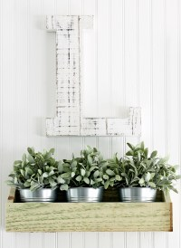 How to Make Wooden Farmhouse Wall Decor Bins for $2 in 15 ...