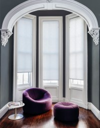 Ideas for Bay Window Treatments