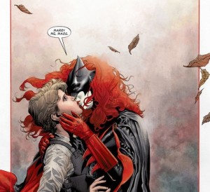 Batwoman proposal from issue 17.