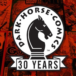 Dark Horse 30 Years Logo