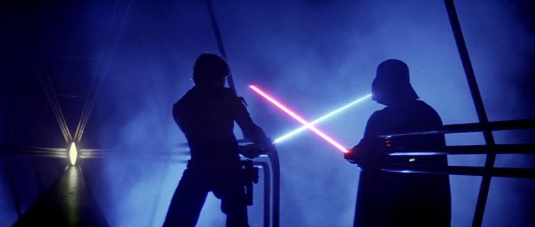 Star Wars Luke v Vader