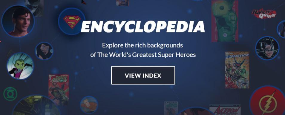 DC Universe Subscription Encyclopedia