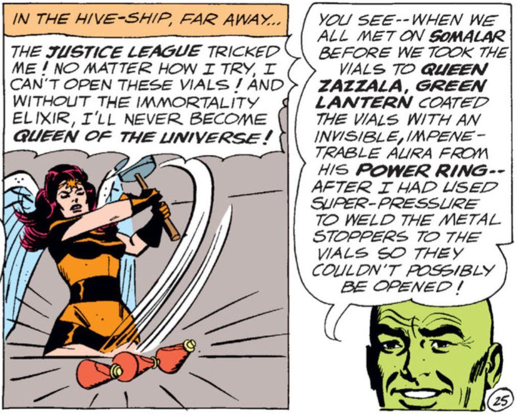 Queen Bee Zazzala tricked