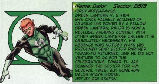 green lantern Dalor