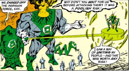 Green Lantern Volk 1st appearance