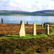 Orkney, 20 mins to the daily Ferry