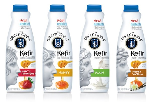 The Greek Gods Brand Launches Kefir Low Fat Cultured Milk