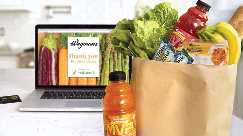 Delivery From Instacart Offered At Select Wegmans Stores