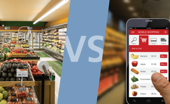 Grocery E Commerce Growing But Most Cpg Dollars Still