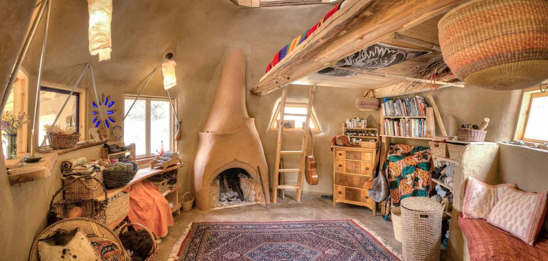 Sasha Rabins Earthen Dome in the High Desert  The Shelter Blog