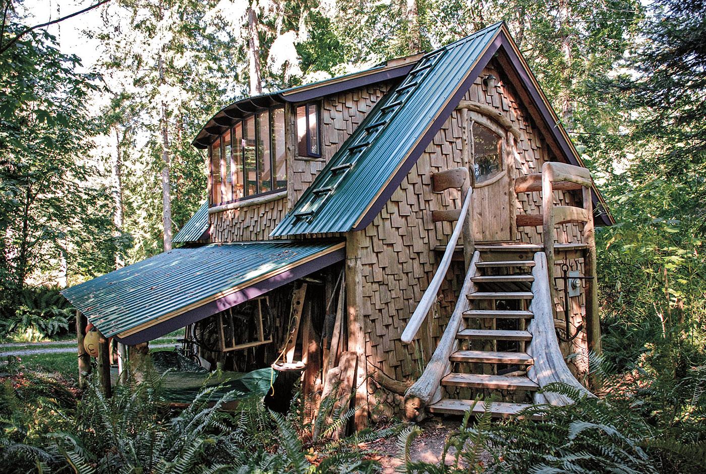 Grahams WorkshopStudio on an Island in BC  The Shelter Blog