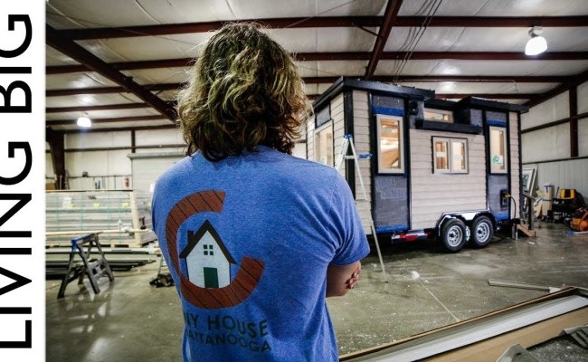 Tiny Home On Wheels Build From Start To Finish The