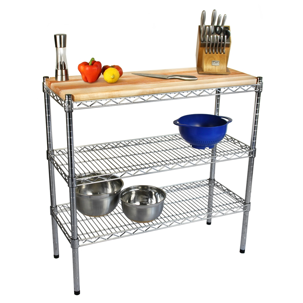 wire kitchen cart delta faucets parts 18 d catskill craftsmen cutting board tops the shelving store larger photo email a friend