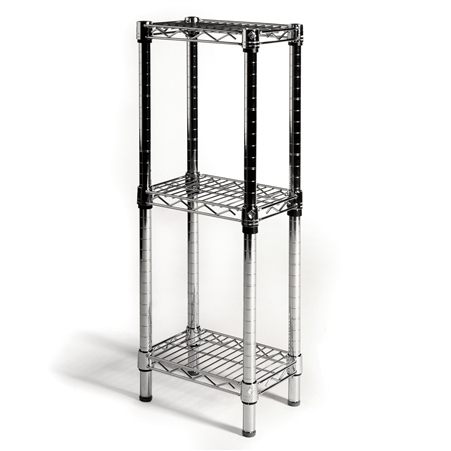 8 d wire shelving with 3 shelves