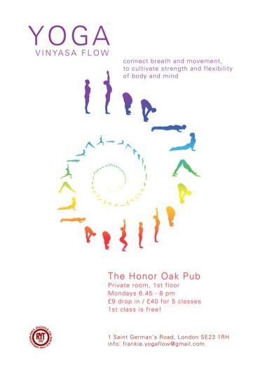 Vinyasa Flow Yoga in Honor Oak Park
