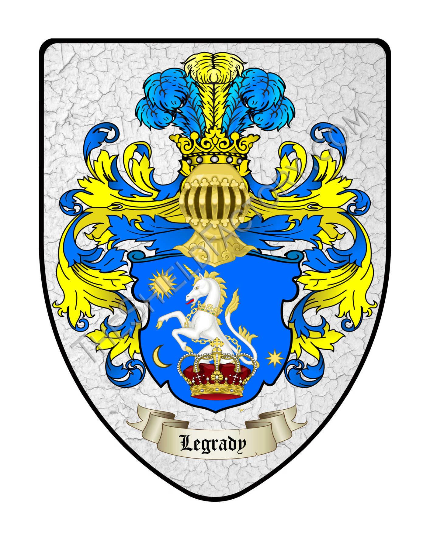 Custom Coat Of Arms Display Shields