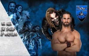 Seth Rollins vS The Fiend Bray Wyatt