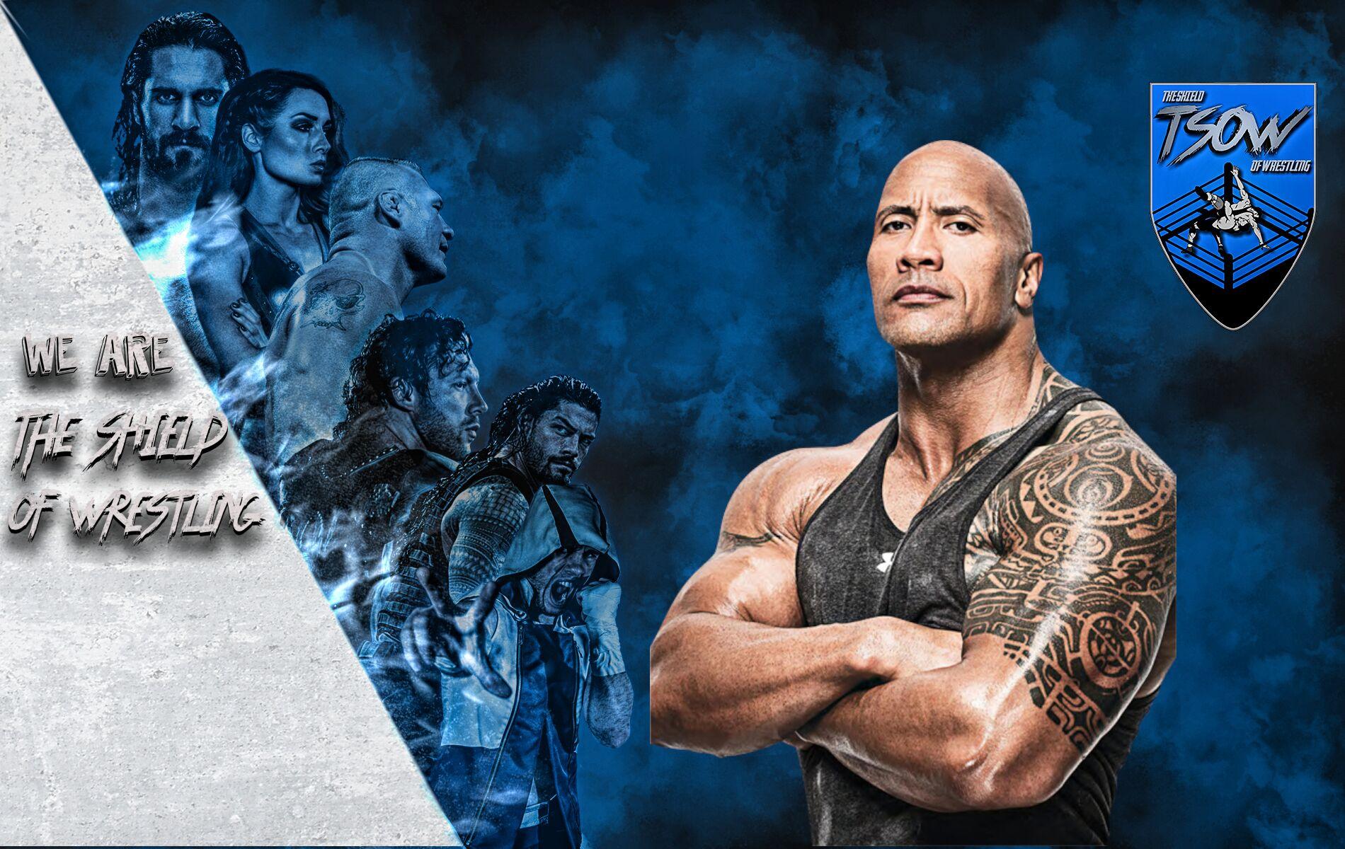 The Rock elogia Cody