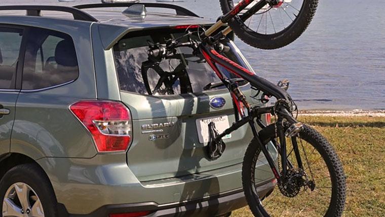 a bike rack on your subaru outback