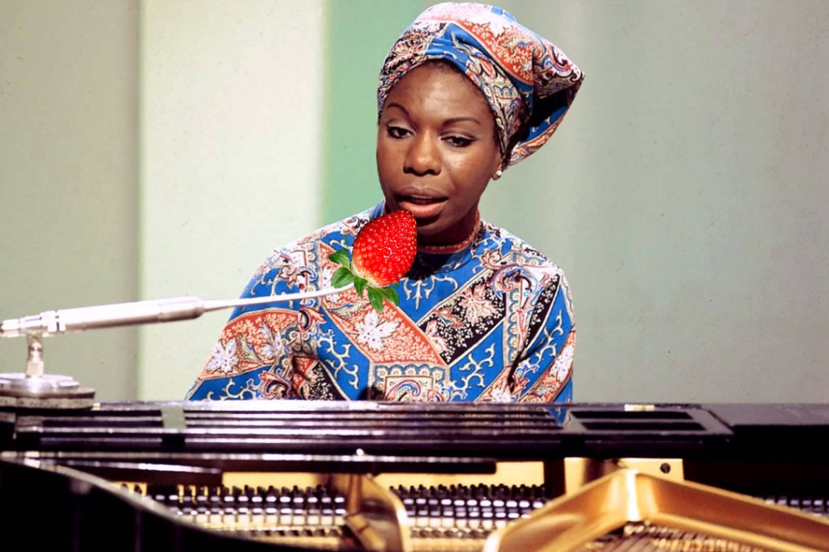 Nina Simone Strawberries