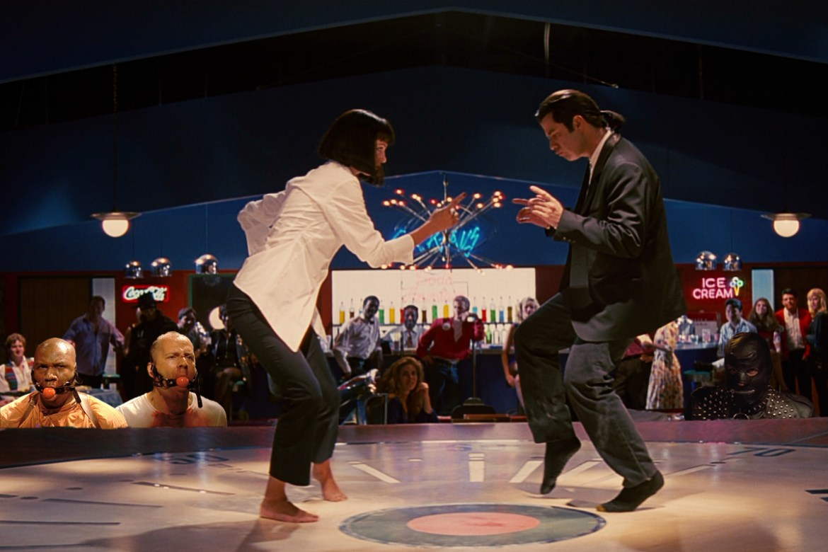 The Movie Guide Pulp Fiction 1994 The Shimmering Ostrich