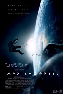 The Shiznit's spoof poster for Gravity