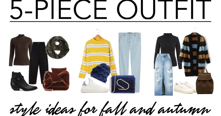 5-piece outfit • style ideas for fall/autumn