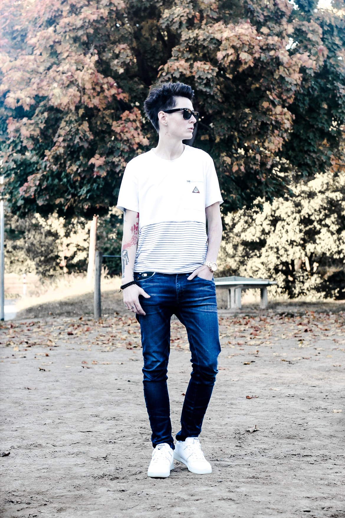androgynous genderless outfit style