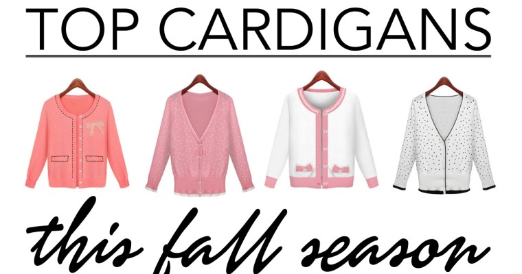 top cardigans this fall season