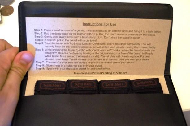 Tasselmate instructions