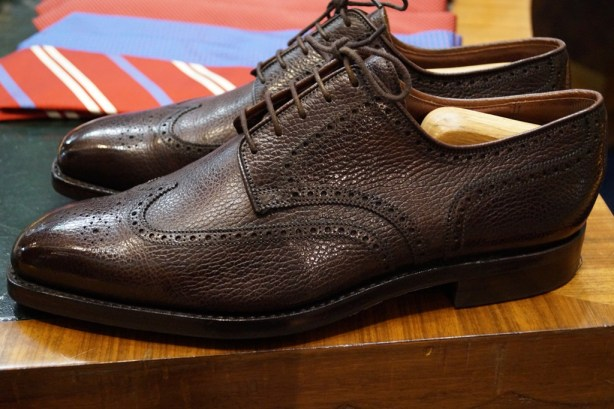 George Cleverley Semi Brogue Darby