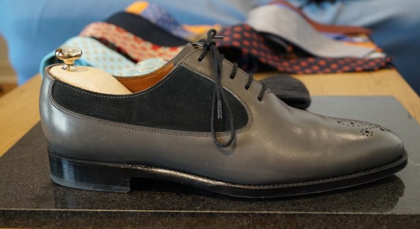 J.FitzPatrick Grey oxfords 1