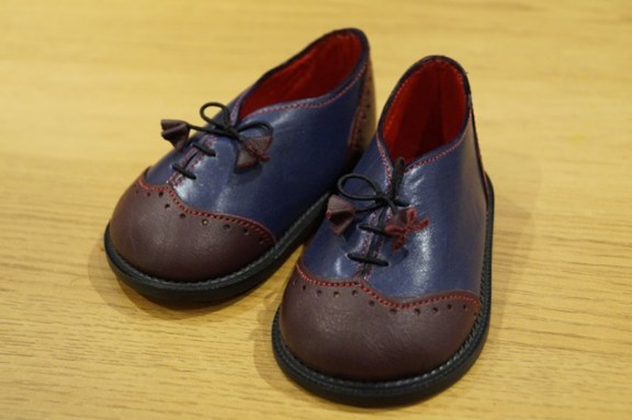 The Little Shoemaker wingtip brogues