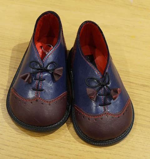 The Little Shoemaker wingtip brogues 6