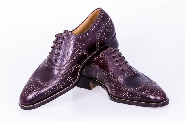 George Cleverley Antique Brogue2