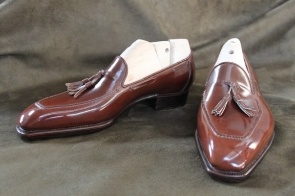 Bestetti Bespoke Tassel Loafer Brown