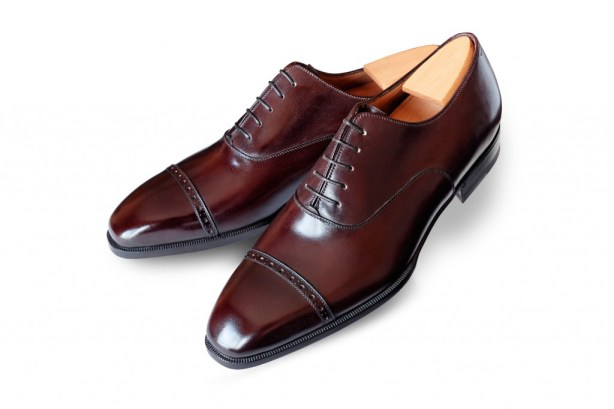 Aubercy brown cap toe
