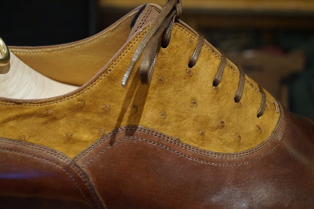 Stefano Bemer two toned balmoral oxford 1