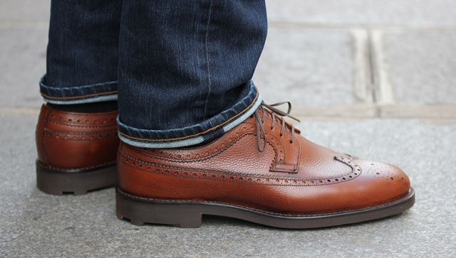 Septieme Largeur Longwing brogue