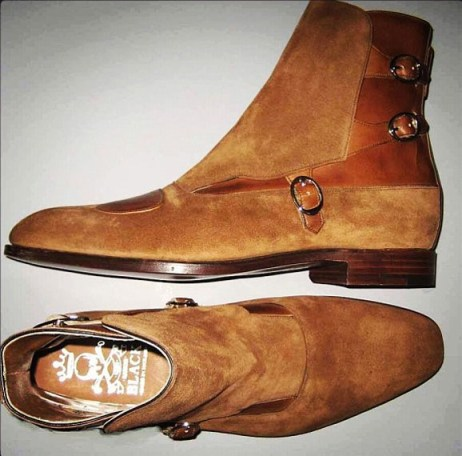 barker black jodhpur boots