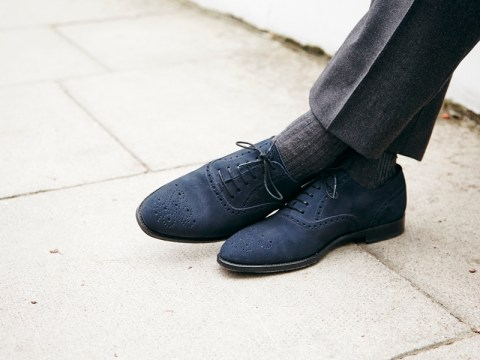 Greenwood navy suede coming Nov. 2013