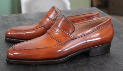 Bestetti penny loafers
