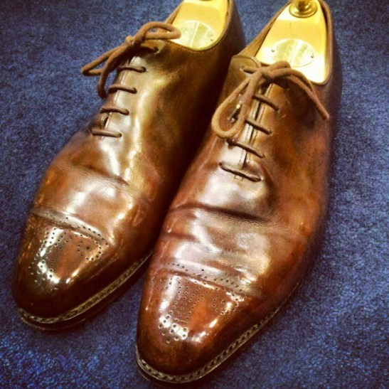 Crockett & Jones Whole Cuts Oxfords