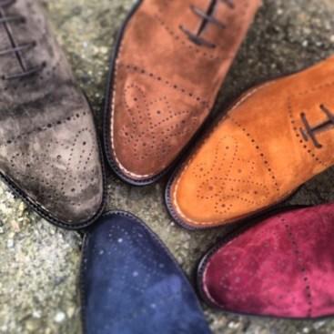 Bontoni suede shoes